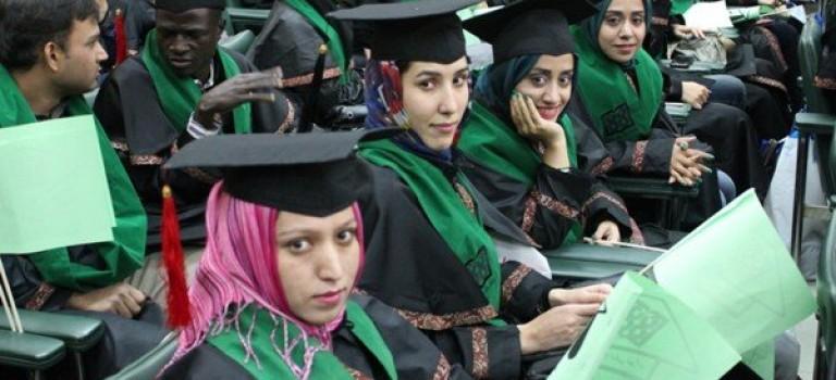 افزایش ۲۰ درصدی مقرری دانشجویان بورسیه غیرایرانی
